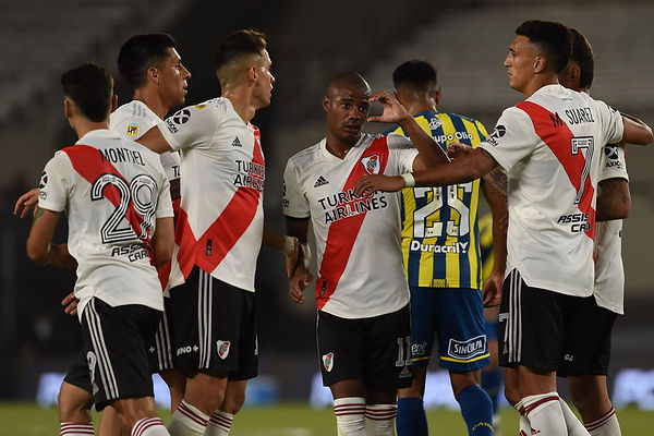 River Plate 3 Rosario Central 0 Copa LPF