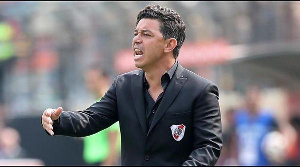 """El """"Muñeco"""" Gallardo estuvo a punto de levantar su tercera Copa Libertadores como DT. Una verdadera pena. Foto: www.gettyimages.com"""