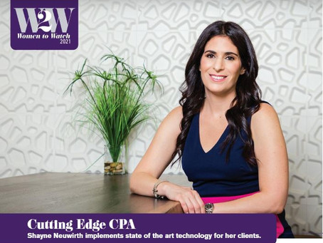 Cutting edge CPA- Shayne Neuwirth implements state of the art technology for her clients.