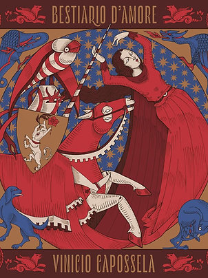 Bestiario d'amore - Red Vinyl