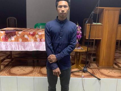 Kyaw Mint Naing faith comes by hearing