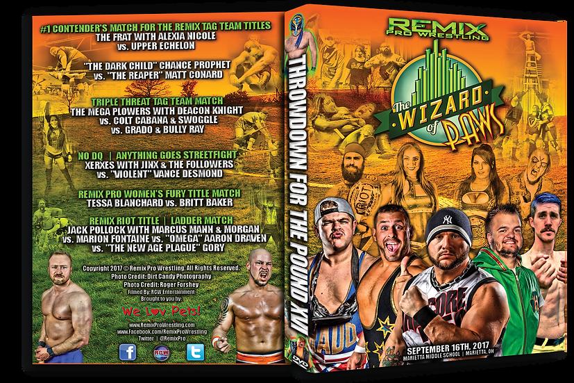 Remix Pro Wrestling - Throwdown for the Pound 16 DVD