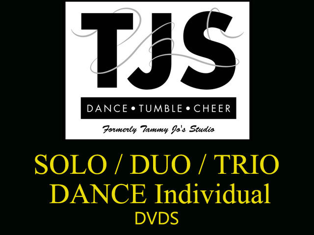 TJS 2017 SOLO/ DUO /TRIO DANCES - DVD