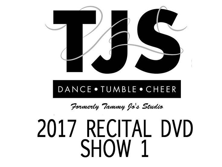 TJS 2017 RECITAL Show 1 DVD