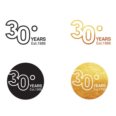 Scenic 30 year anniversary logo