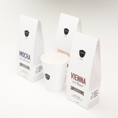 Lavazza packaging design