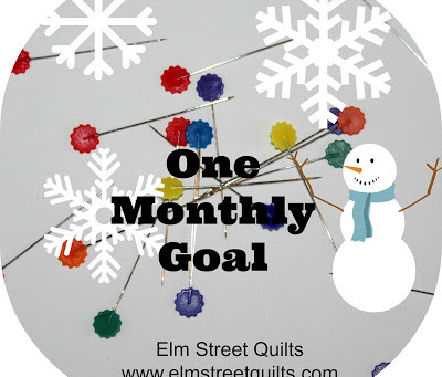 One Monthly Goal - January 2017