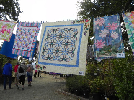 """Quilting in the Garden"" - quilt show"