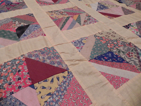 An Unfinished Quilt Top