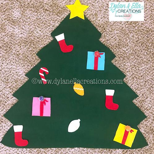Felt Christmas Tree & Snowman