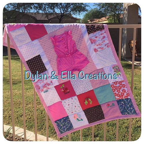 Memory Blanket - SMALL THROW SIZE