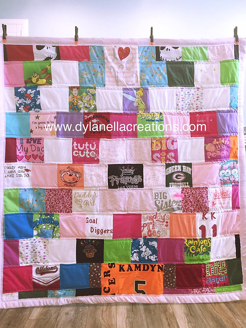 Memory Blanket - Medium Throw size