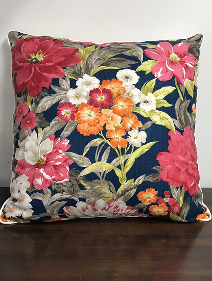 "Large Floral Pillow (24"")"