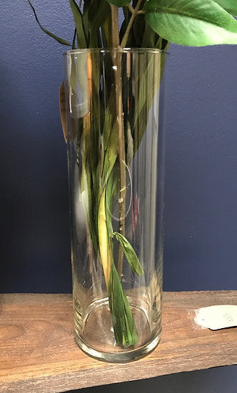 "Glass Vase, 10.5 x 3.5"""