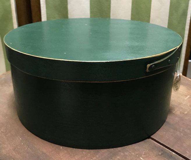 "Hunter Green Cheesebox, 10 x 4.5"""