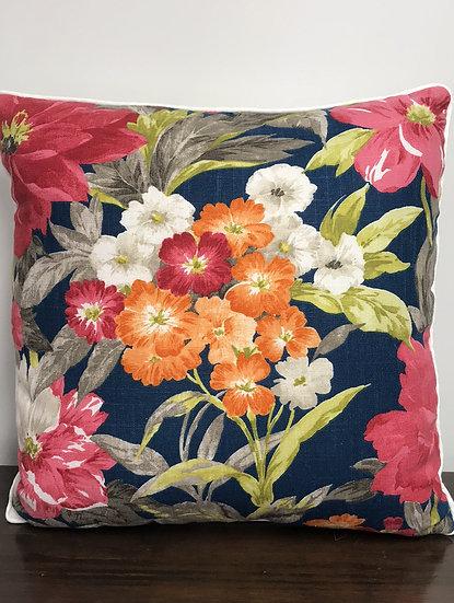 """Medium Floral Pillow (18"""")"""