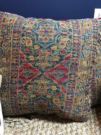 Tapestry pillow, 24""