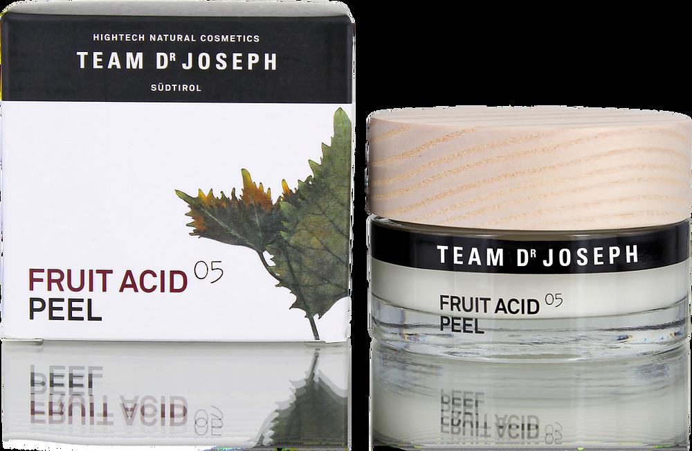 Fruchtsäure Peeling/Team Dr. Joseph/5 Sinne Naturkosmetik