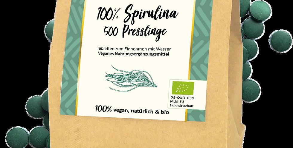 Bio Spirulina-Presslinge 500g