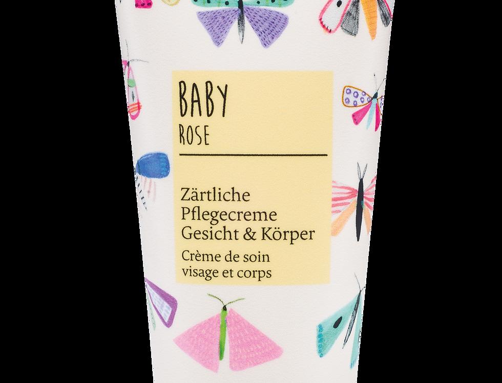 Baby Rose  Zärtliche Pflegecreme Gesicht & Körper 100ml