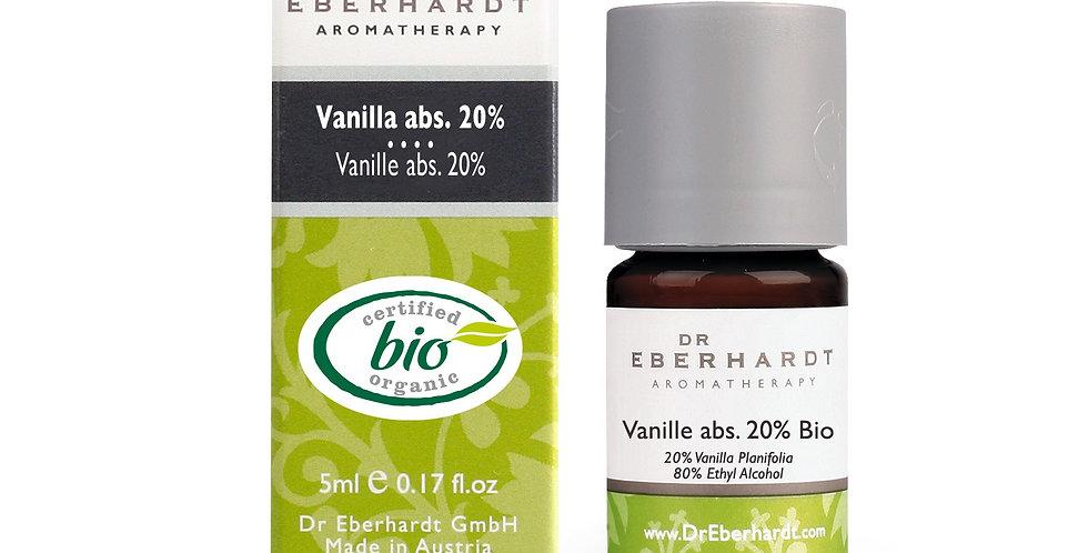 Vanille abs. 20% bio 5ml -100% rein ätherisches Öl