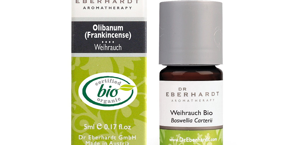 Weihrauch bio 5ml -100% rein ätherisches Öl