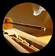 burning agarbatti incense