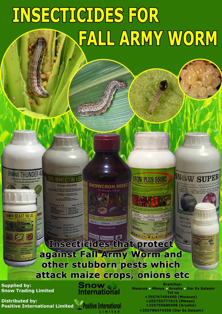 Fall Army Worm
