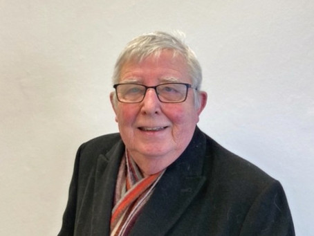 Peter Britcliffe standing as Oswaldtwistle's County Council Candidate.