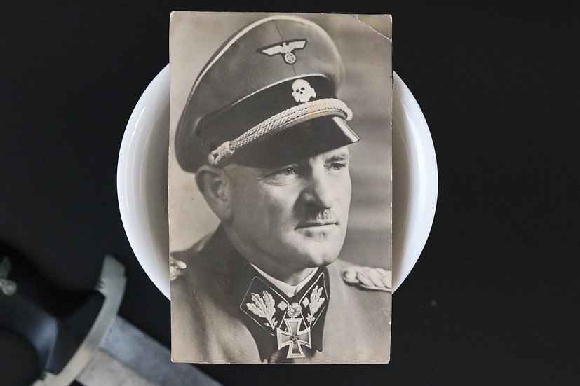 Sepp Dietrich Post Card