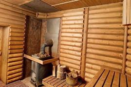 Внутренняя отделка стен деревянным Блок хаусом