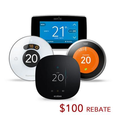 nest thermostat, thermostat sale, calgary wifi thermostat