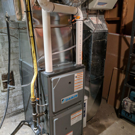 Humidifer install in calgary