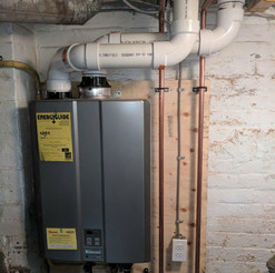 tankless water heater install in calgary