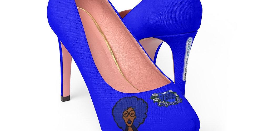 Zeta Patch Platform Heels