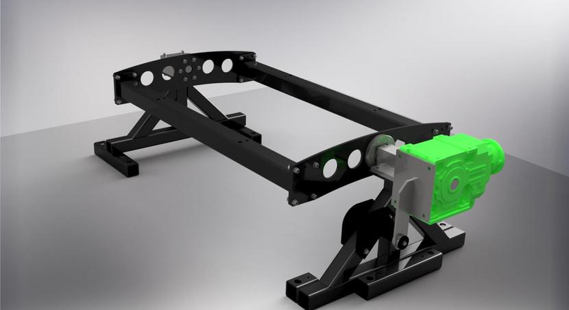Design av tunestand for motorblokk
