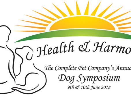 Health & Harmony Dog Symposium 2018
