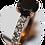 Thumbnail: Gorgeous Black Diamond Engagement Ring14 KT Rose Gold