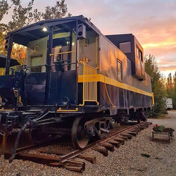 Northern Alberta Railway Cabin
