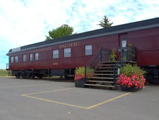 Rail Fascinating History in Small Alberta Hamlet
