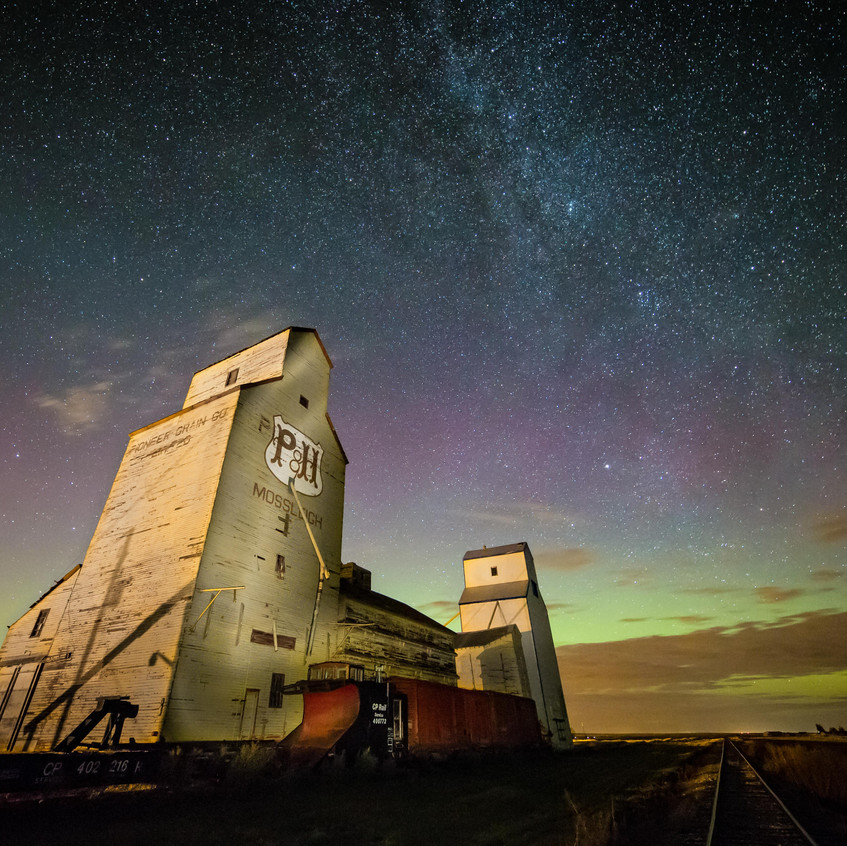 sleigh, AB - Grain Elevators - Image - Neil Zeller Photography