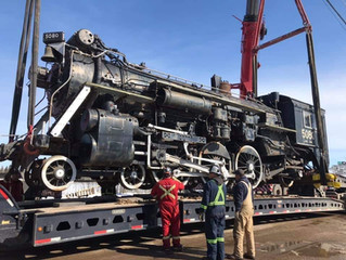 Locomotive 5080 is Alberta bound