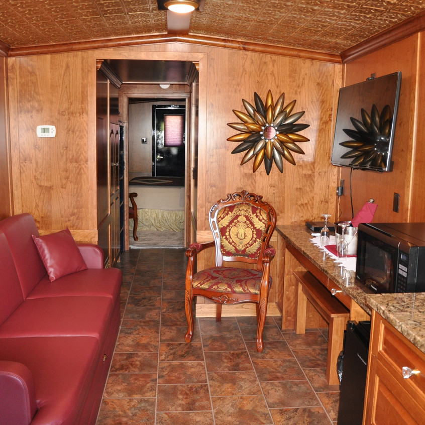 Aspen Crossing NAR Caboose Lounge