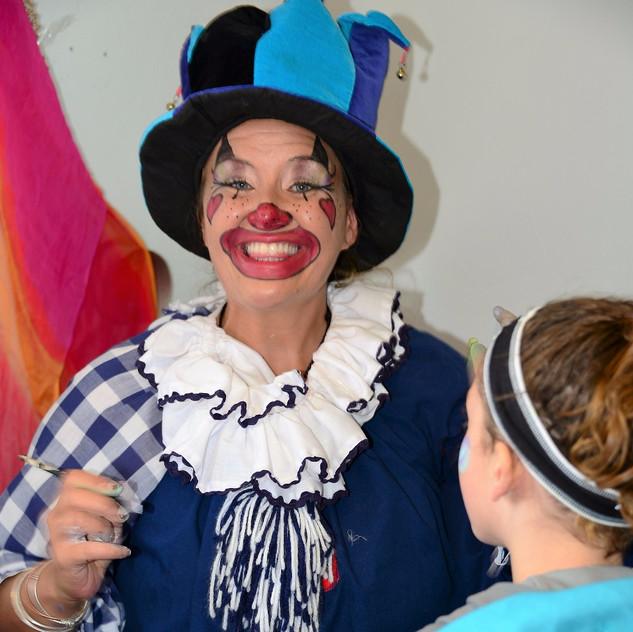 Aspen Crossing Circus Train - Face Painting Clowns_edited