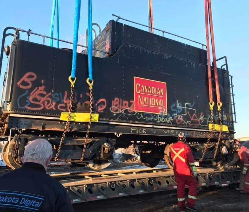 Locomotive 5080 - Loading Coal Car - Ima