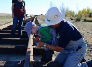 Kellan's Visit to Aspen Crossing Railway!