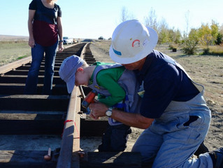Kellan's Visit to Aspen Crossing Railway!