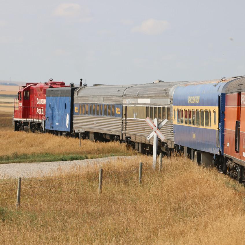 Aspen Crossing Railway - Prairie Scenery - Image Dave Carr