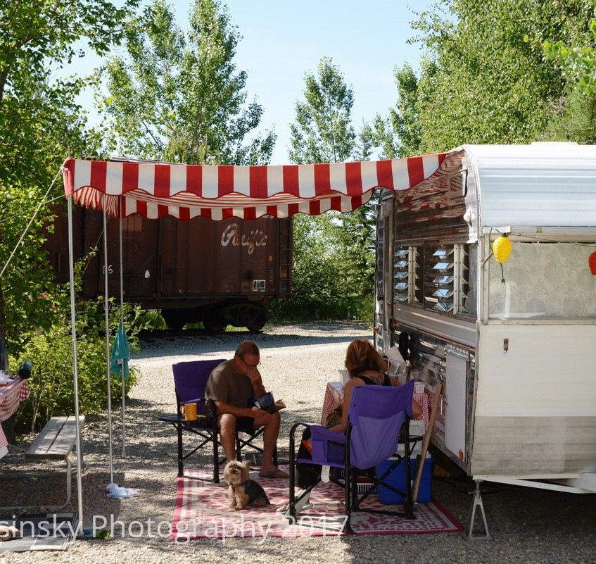 Aspen Crossing Campground - Well Treed Sites