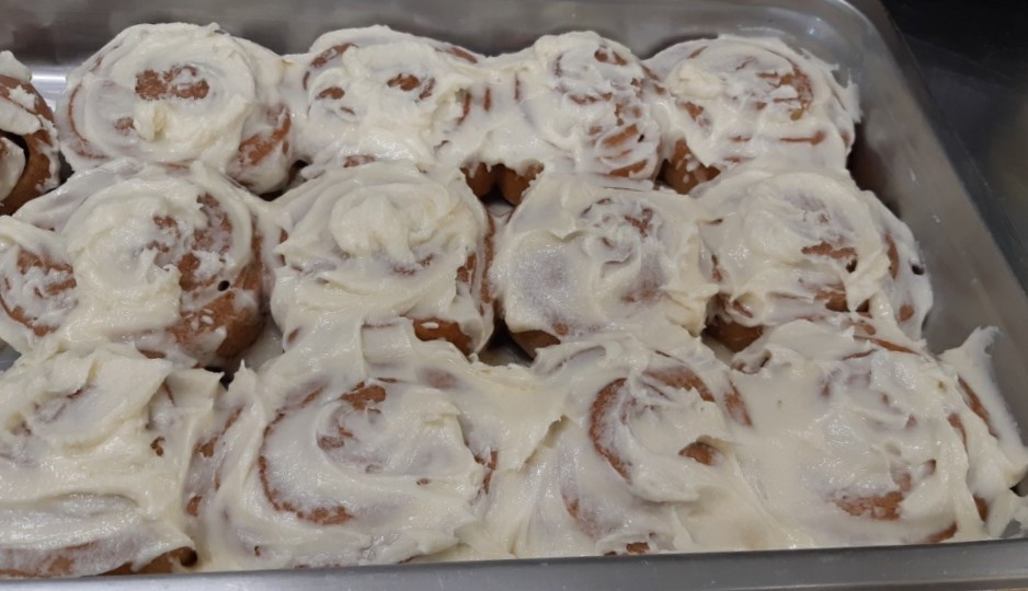 Bergquist Tavern at Aspen Crossing - Homemade Cinnamon Buns